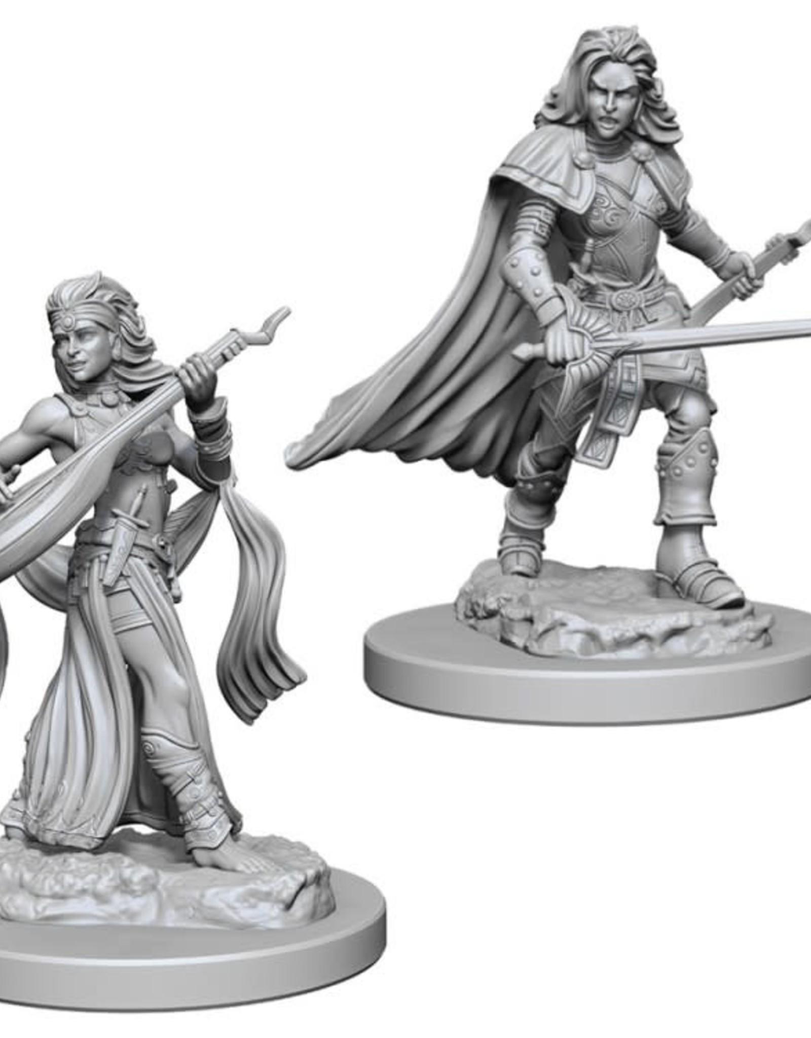 Pathfinder Mini's: Human Female Bard