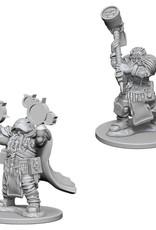 D&D Mini's: Dwarf Male Cleric
