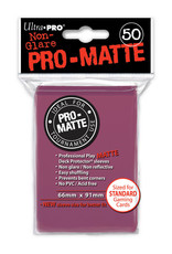 Pro Matte Deck Protector Sleeves 50ct Blackberry