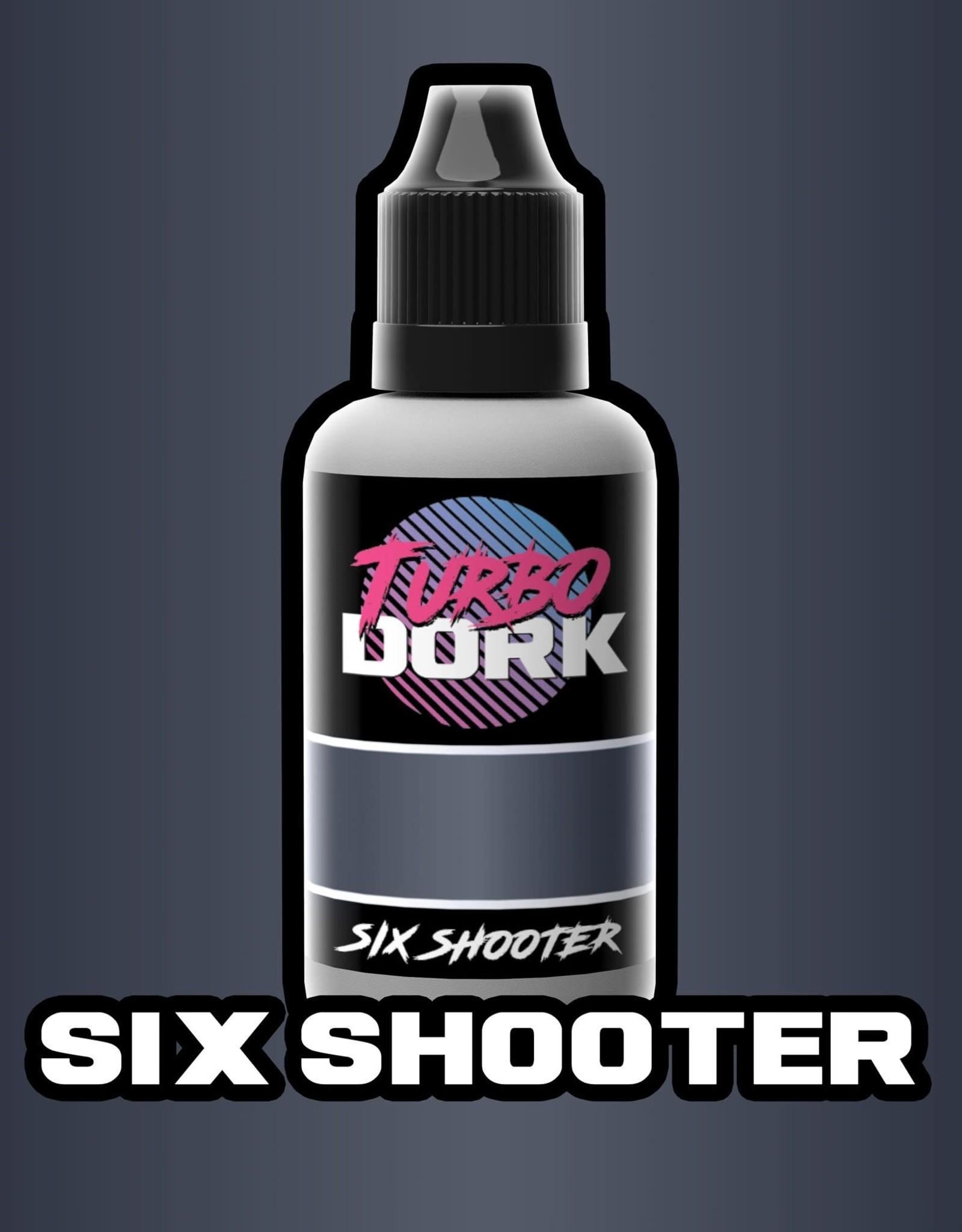 Six Shooter Metallic Acrylic Paint