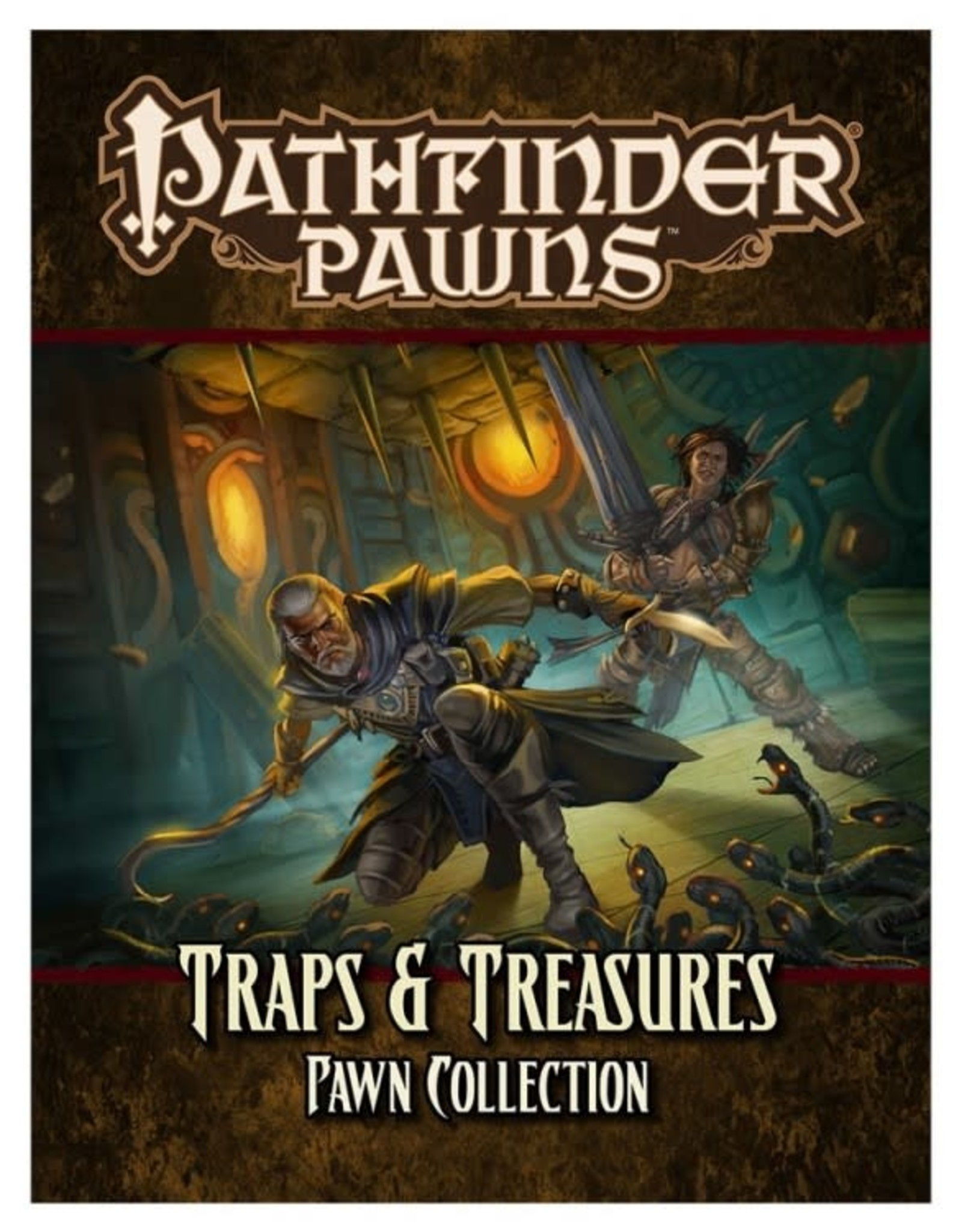 Pathfinder RPG: Traps and Treasures Pawn Collection