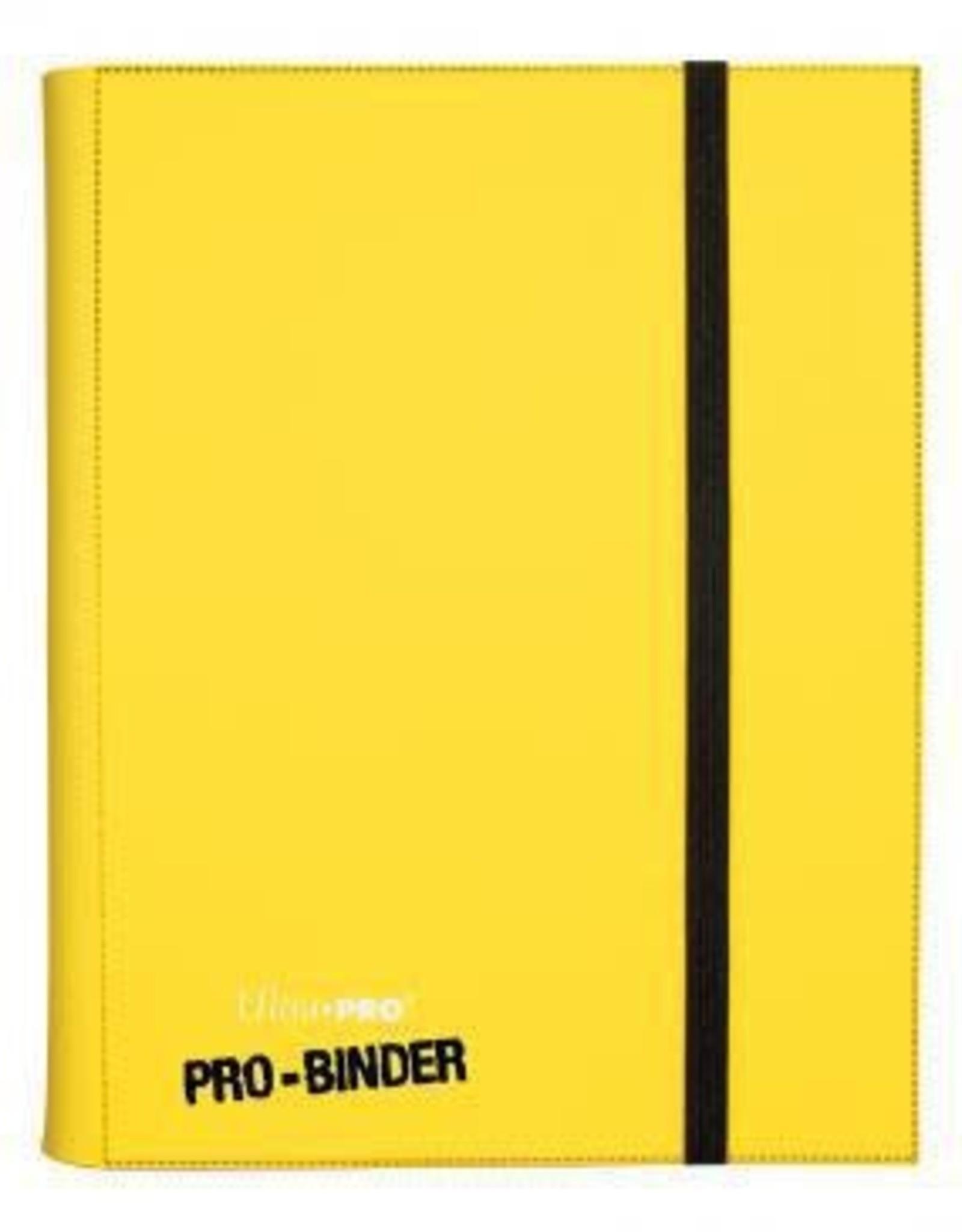 9 Pocket Ultra Pro Binder Yellow