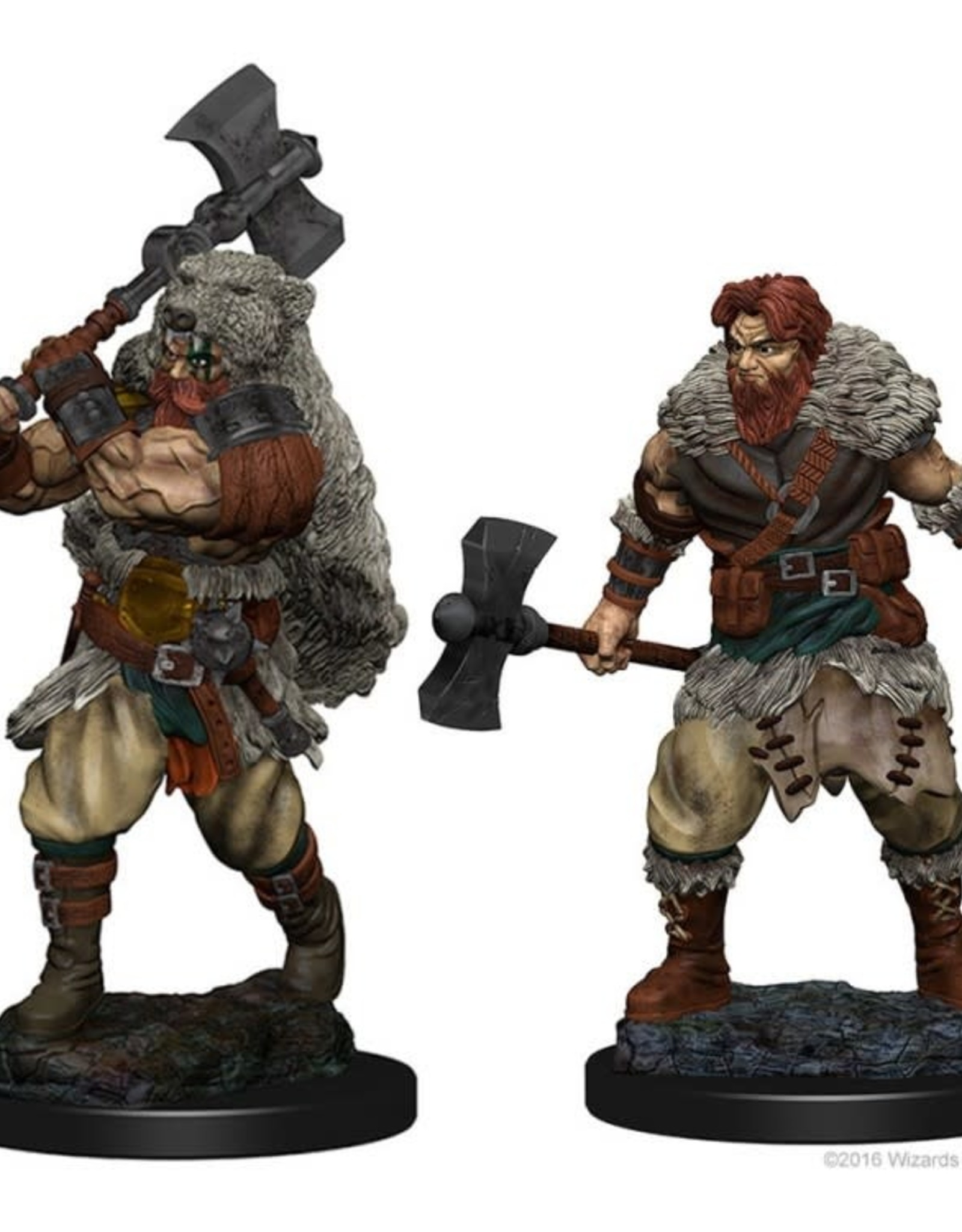 D&D Mini's : Human Male Barbarian