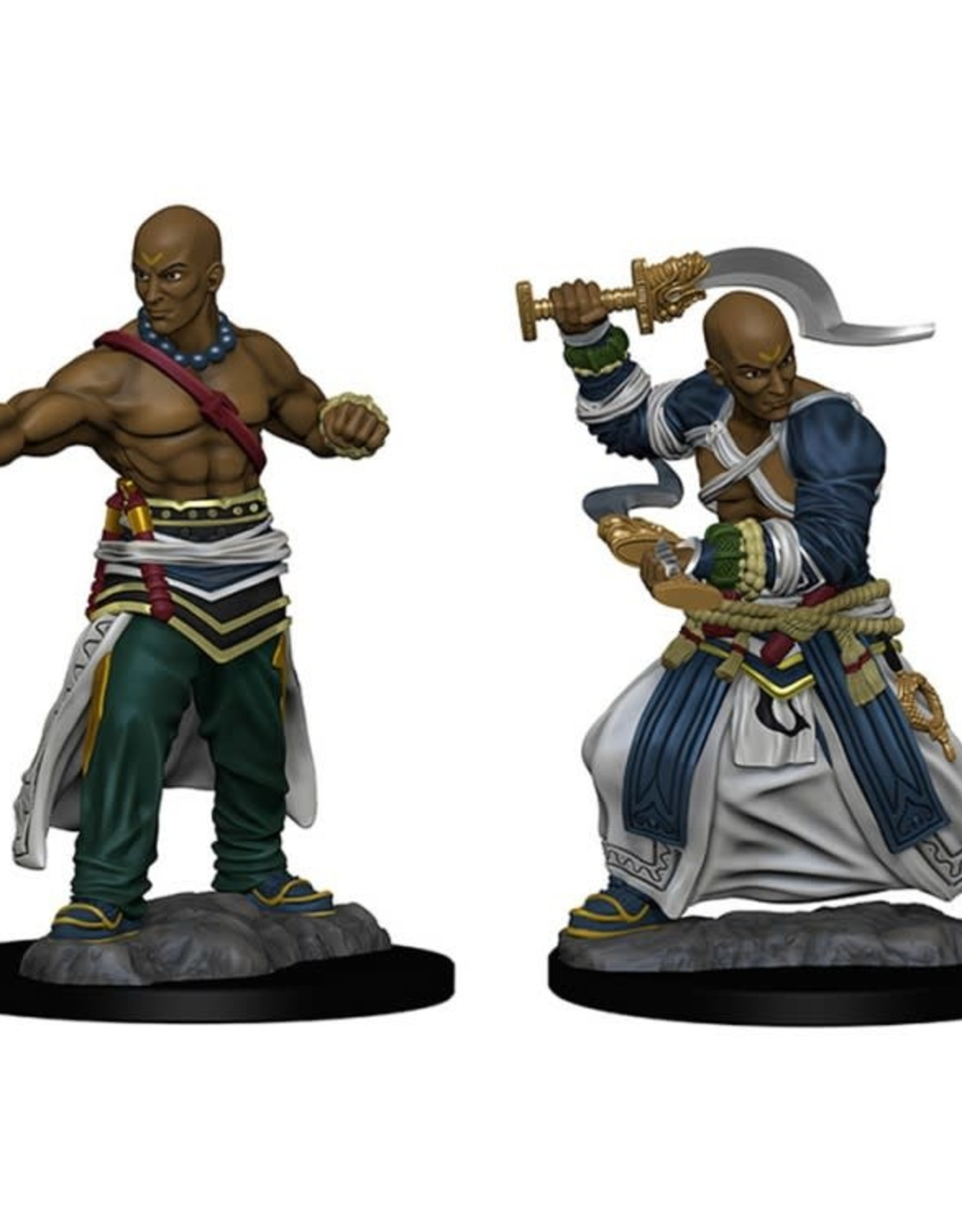 Pathfinder Mini's: Human Male Monk