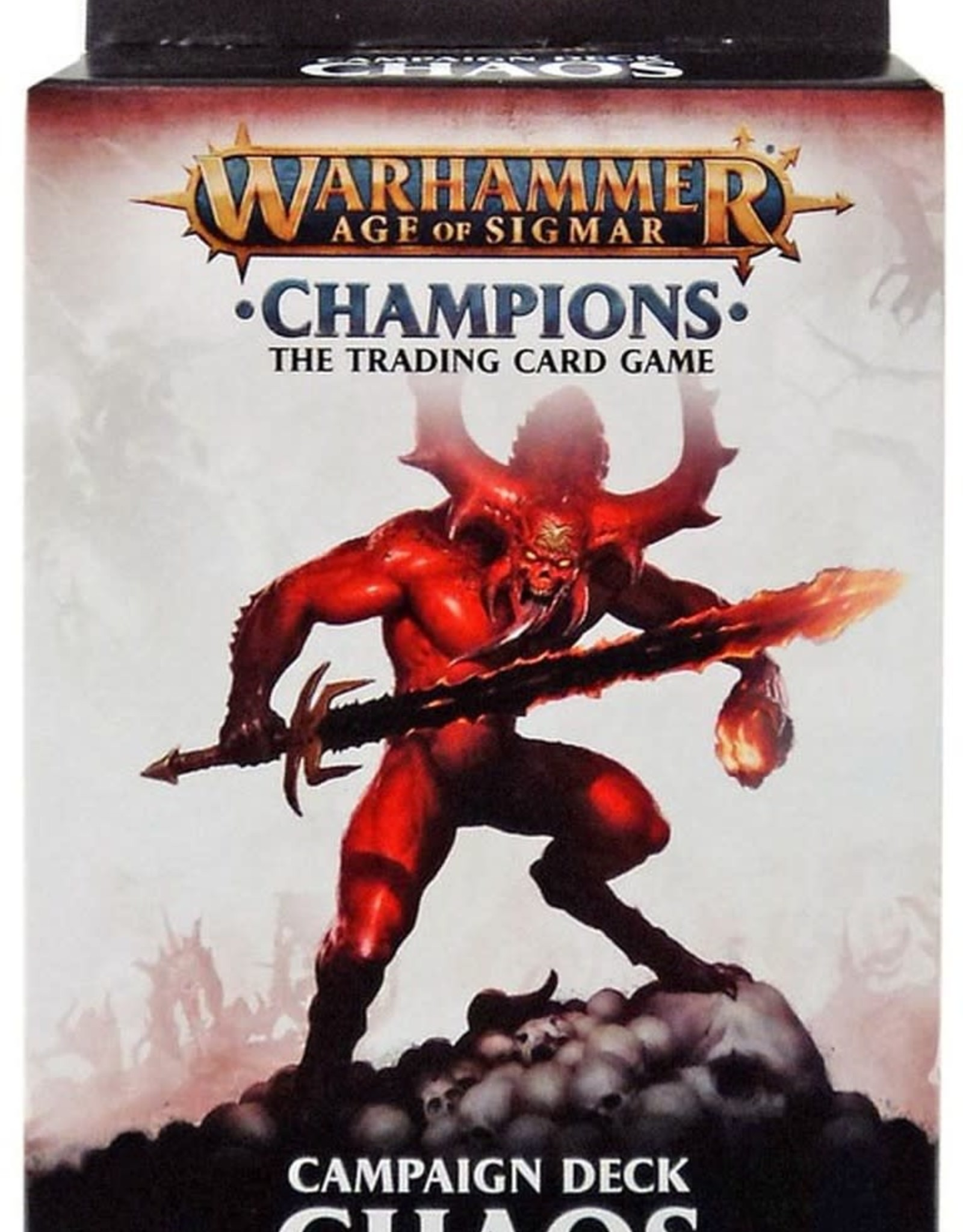 Warhammer:  Champion Deck Chaos