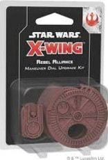 Star Wars X-Wing: 2nd Edition Rebel Alliance Maneuver Dial Upgrade Kit