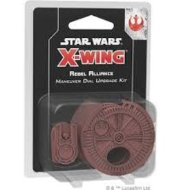 Star Wars X-Wing: 2nd Edition Rebel Alliance Maneuver Dial Upgrade Kit