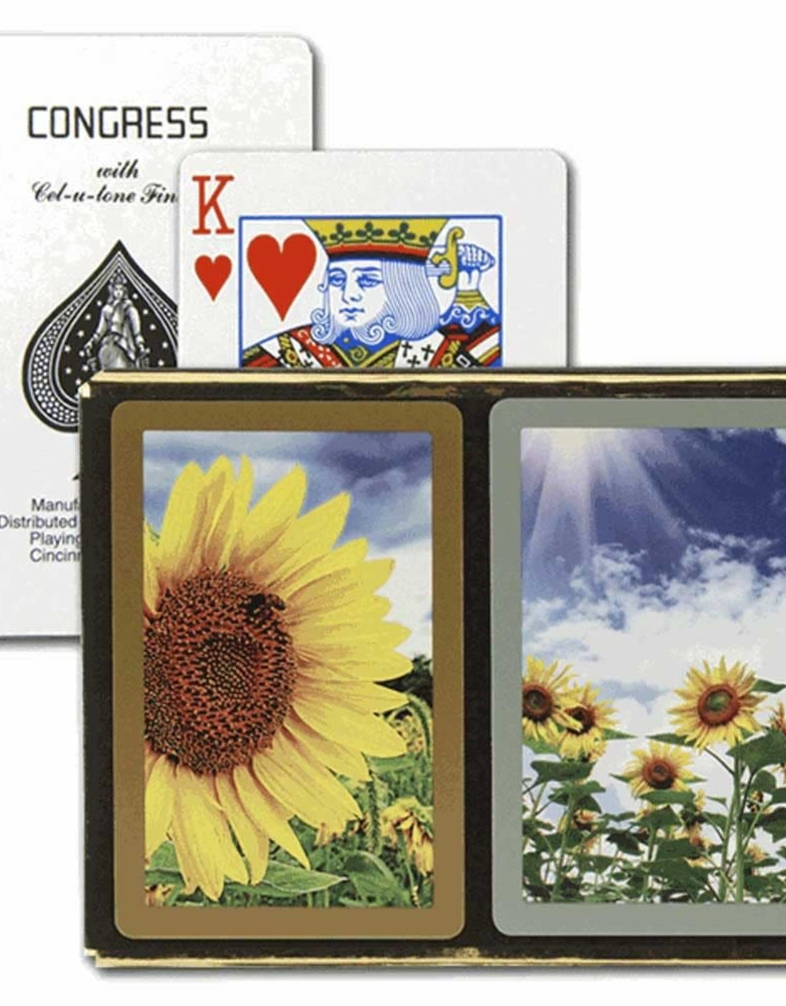 Congress Sunflower Playing Cards