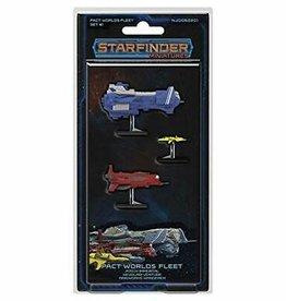 Starfinder Miniatures: Pact World Fleet Set 1
