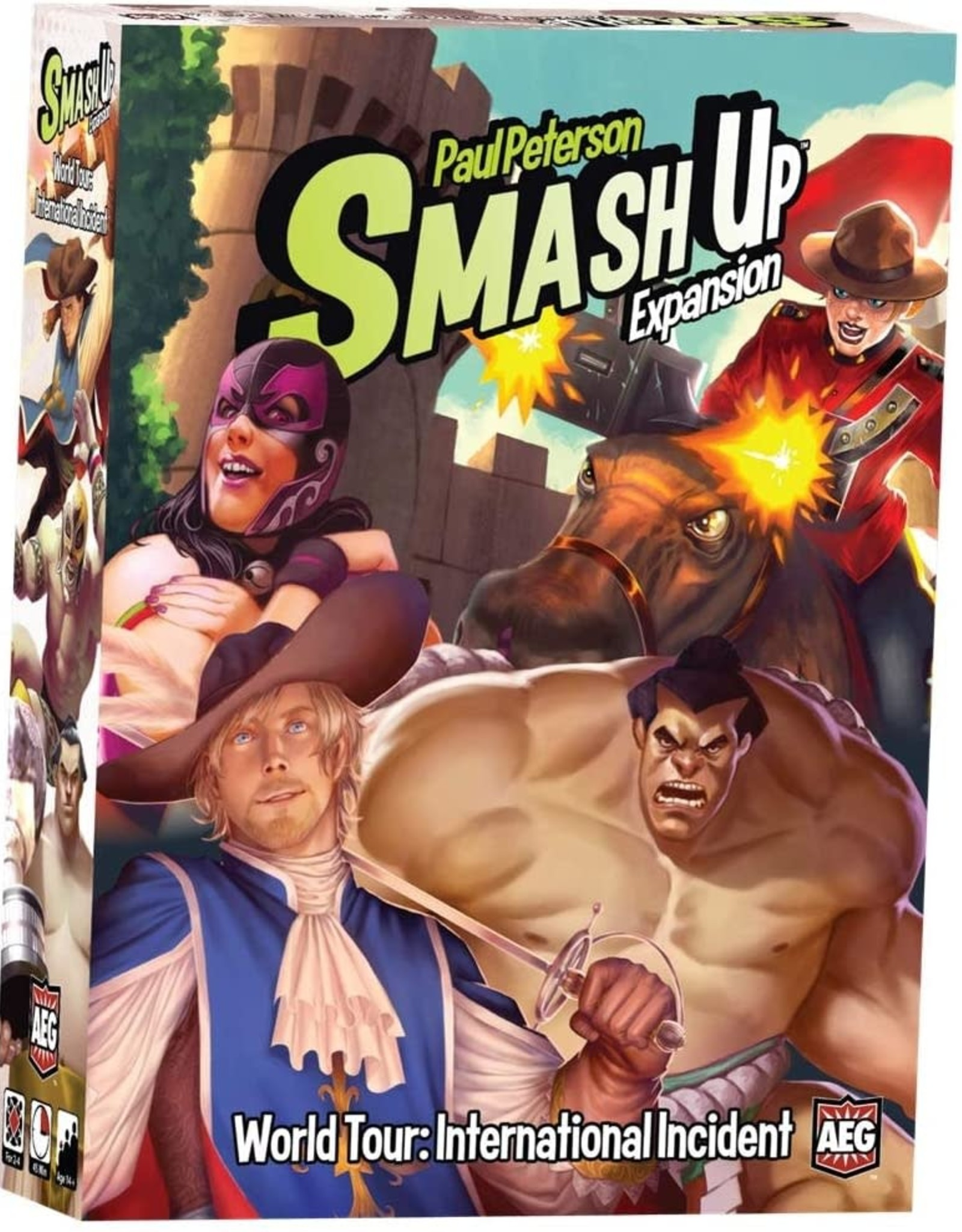 Smash Up: World Tour - International incident
