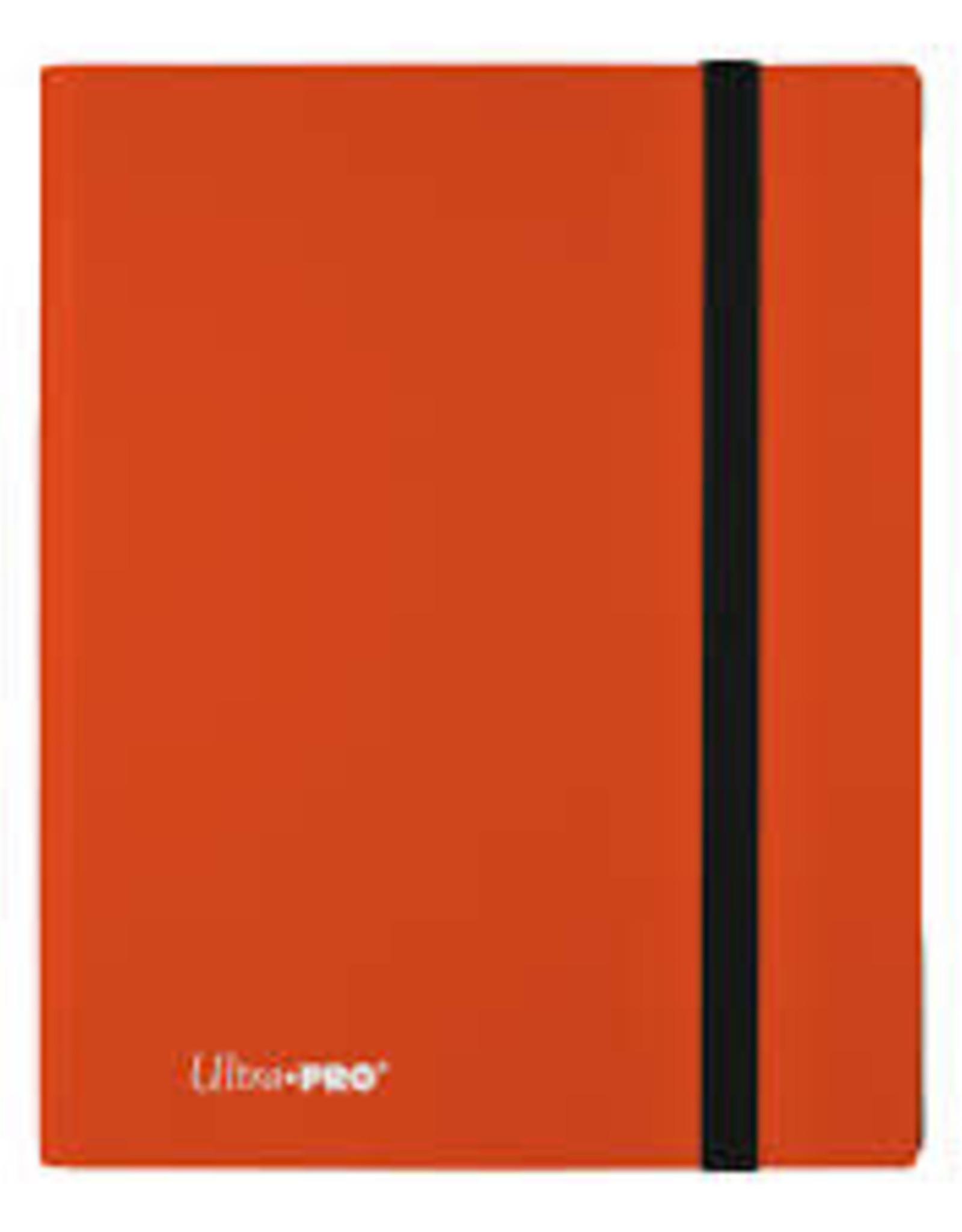 9 Pocket Ultra Pro Binder Pumpkin Orange
