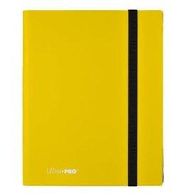 9 Pocket Ultra Pro Binder Lemon Yellow