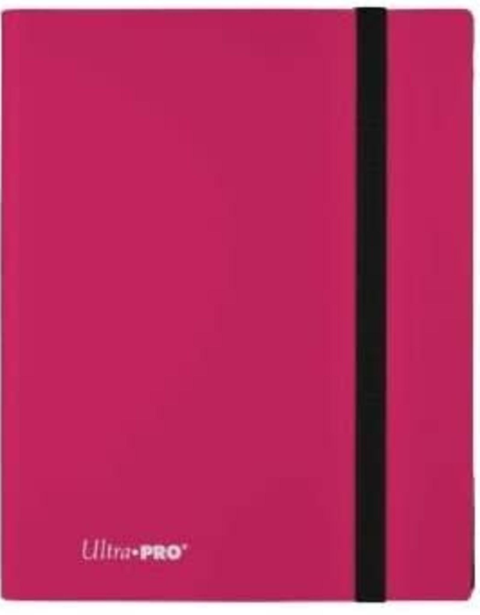 9 Pocket Ultra Pro Binder Hot Pink