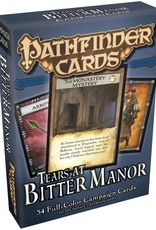 Pathfinder  Cards - Campaign Tears at Bitter Manor