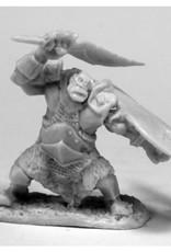 Bones Orc Slicer (Scimitar & Shield)