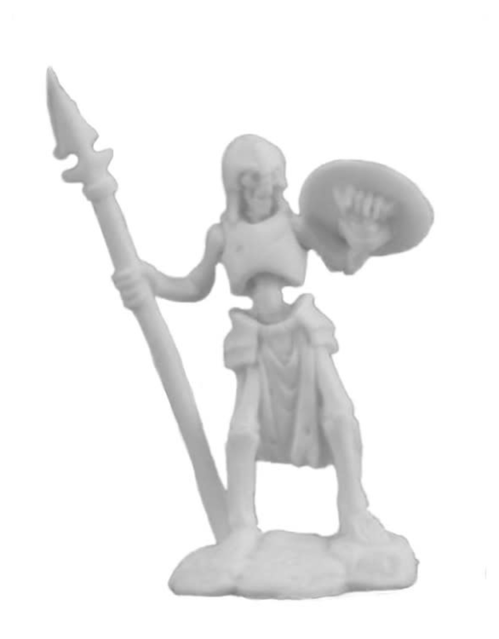 Bones Skeleton Guardian Spearman