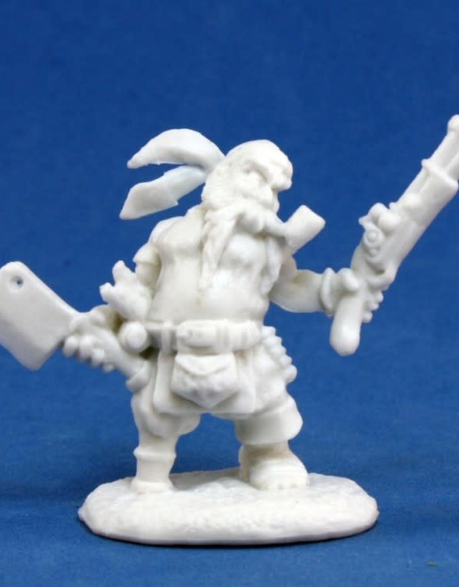 Bones Gruff Grimecleaver, Dwarf