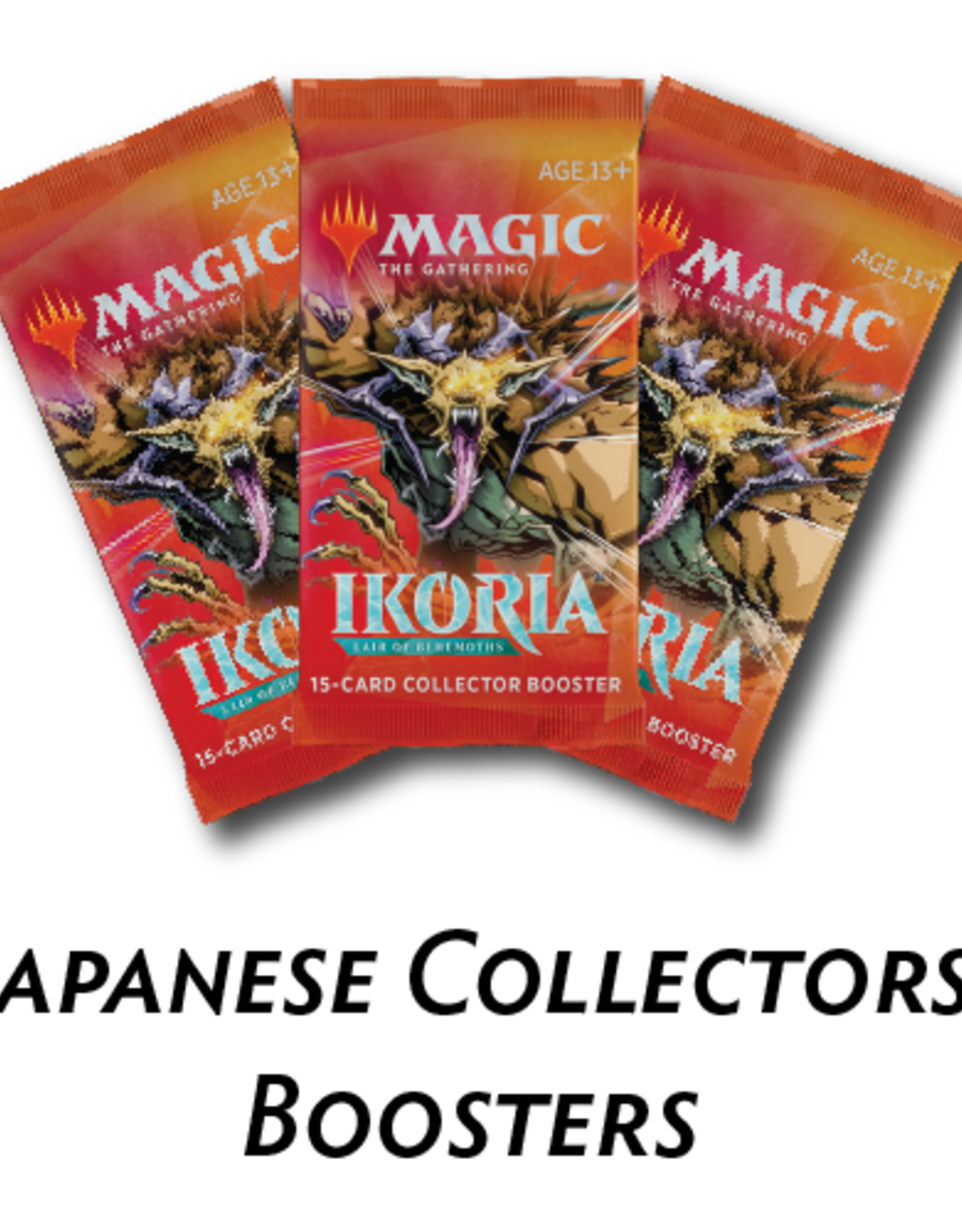 Japanese Ikoria Collector Pack