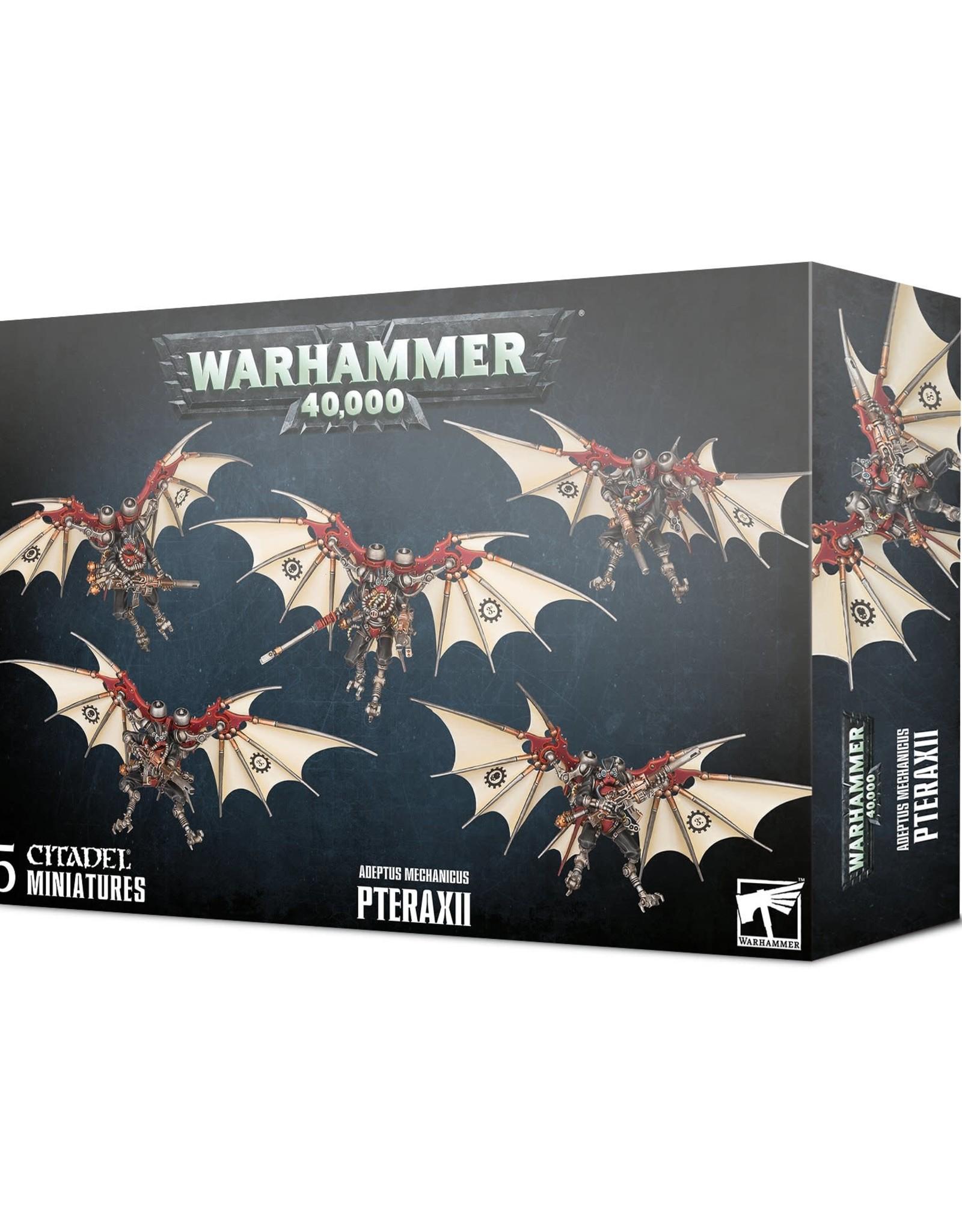 Warhammer 40K Adeptus Mechanicus: Pteraxii