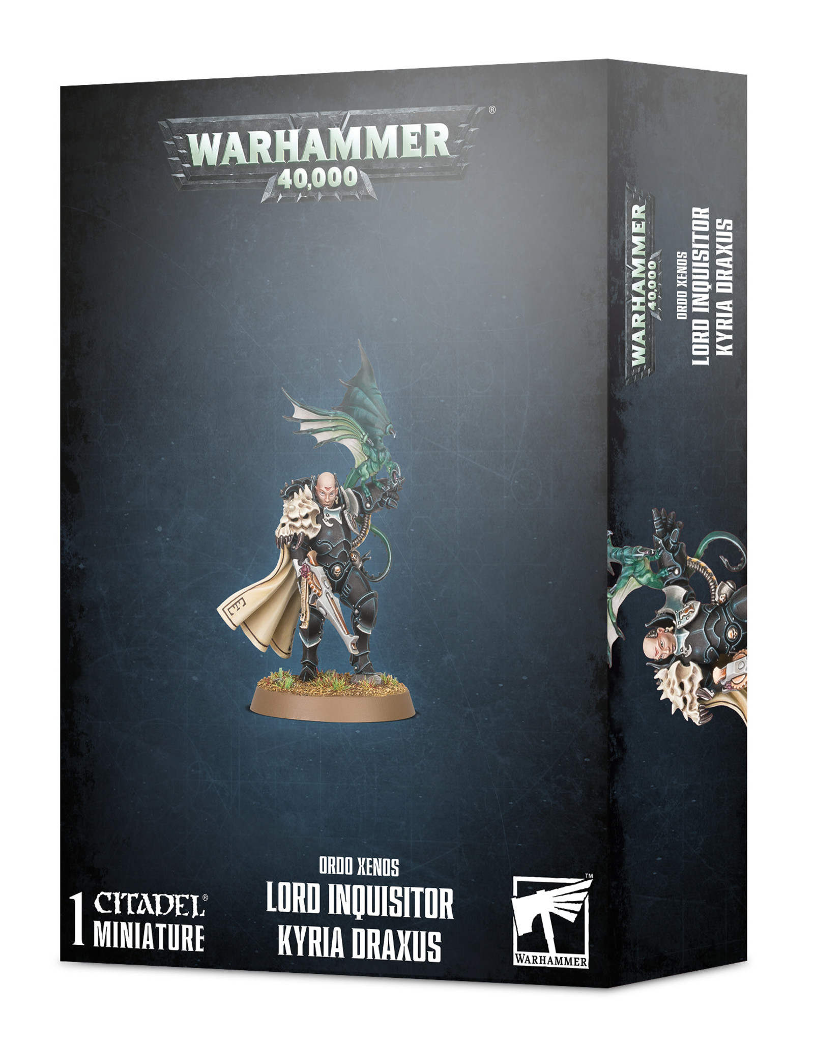 Warhammer 40K Lord Inquisitor Kyria Draxus