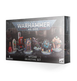 Warhammer 40K Battlezone Manufactorum Objectives