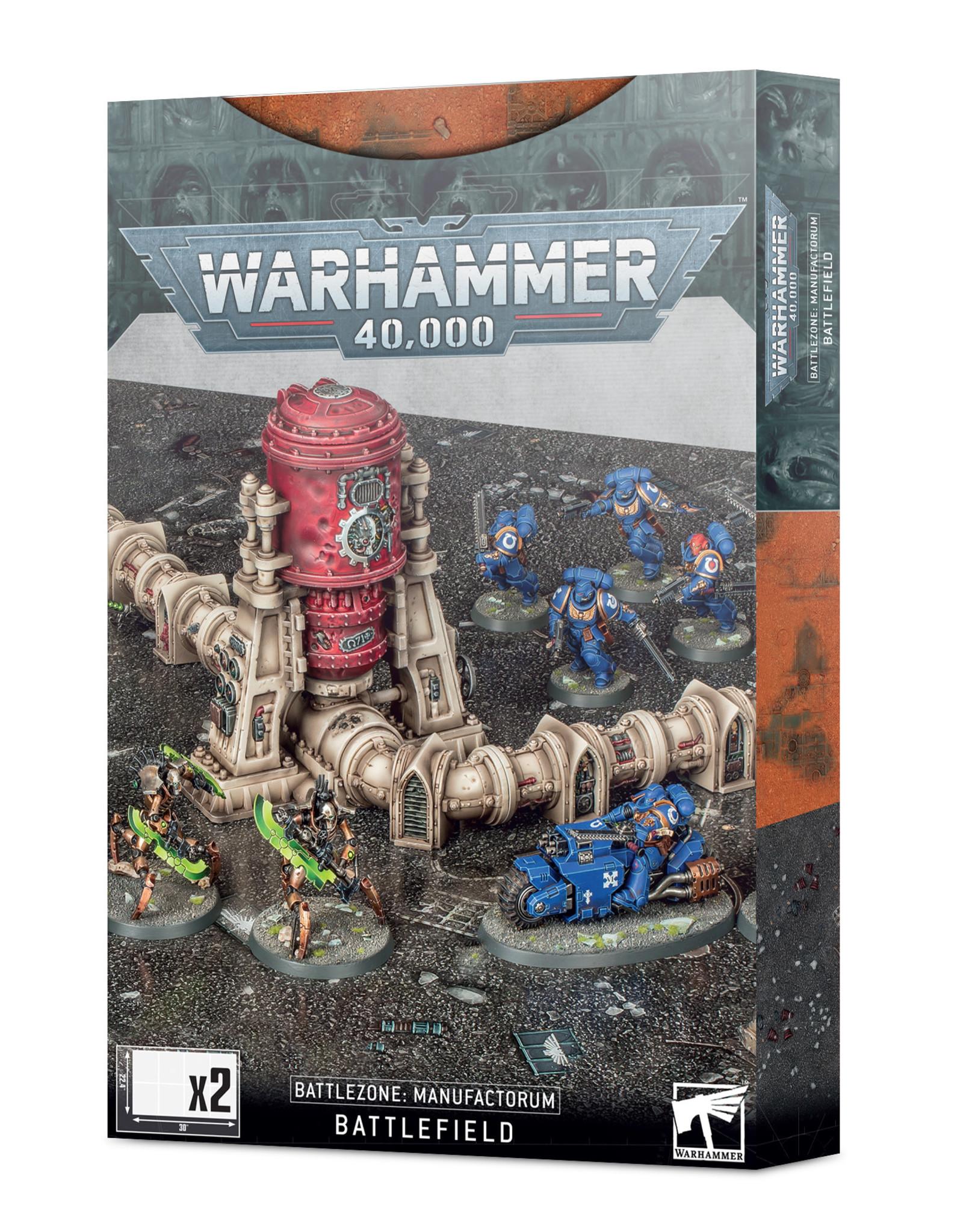 Warhammer 40K Battlezone Manufactorum Battlefield