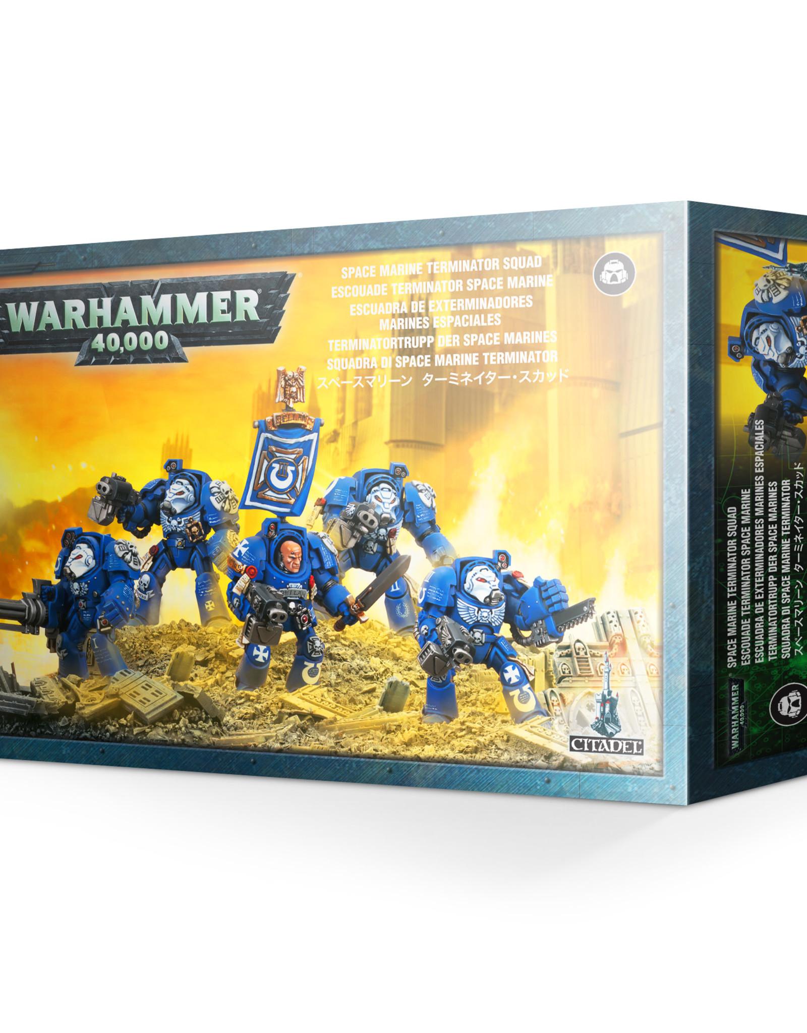 Warhammer 40K Space Marine Terminator Squad