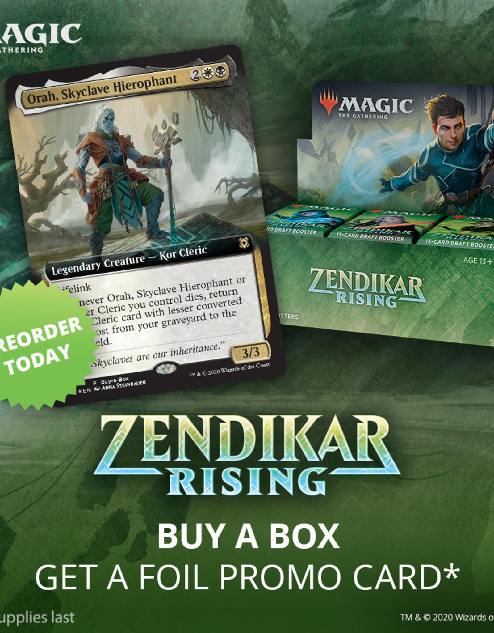 Pre-Order Zendikar Rising Draft Box