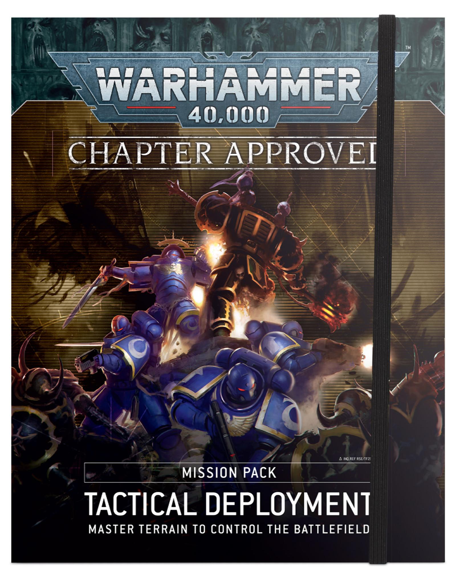 Warhammer 40K 40K: Tactical Deployment Mission Pack