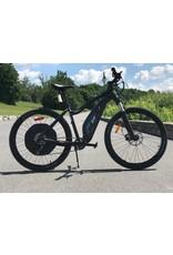 EVO E-Bikes, Terraway 7, Velo electrique 27.5'', Black/Blue, S
