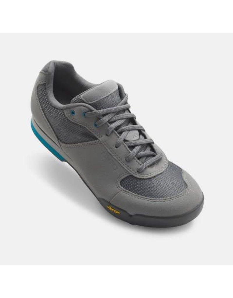 GIRO Chaussures Giro petra titanium/bleu 37