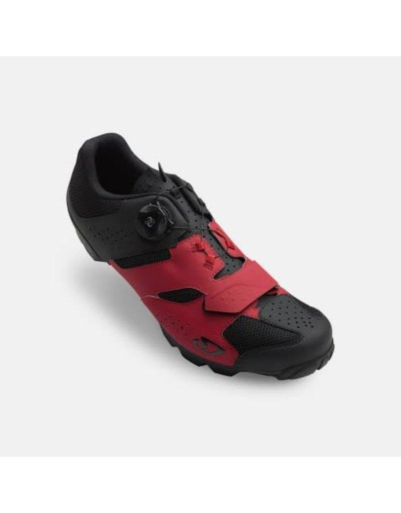 GIRO Chaussures Giro cylinder rouge/noir 44
