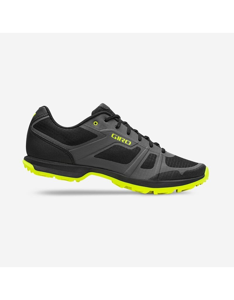 GIRO Chaussures Giro gauge M gris/citron 43