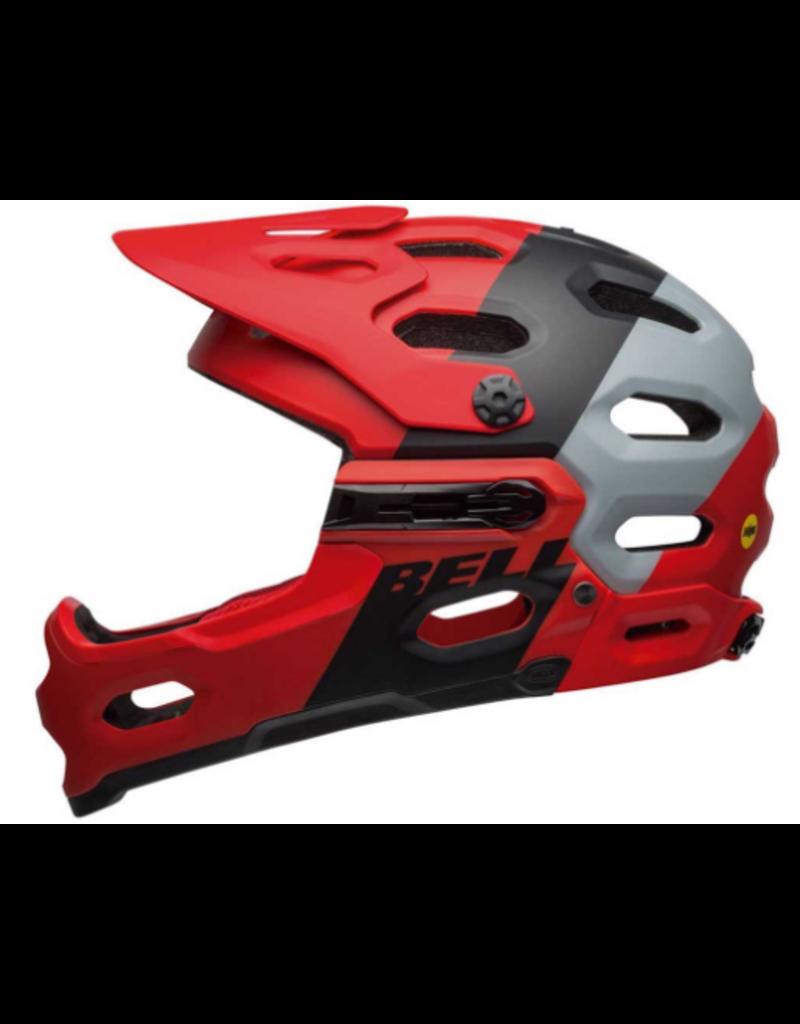 Bell Casque Bell Super 3R Mips Rouge/Noir Large