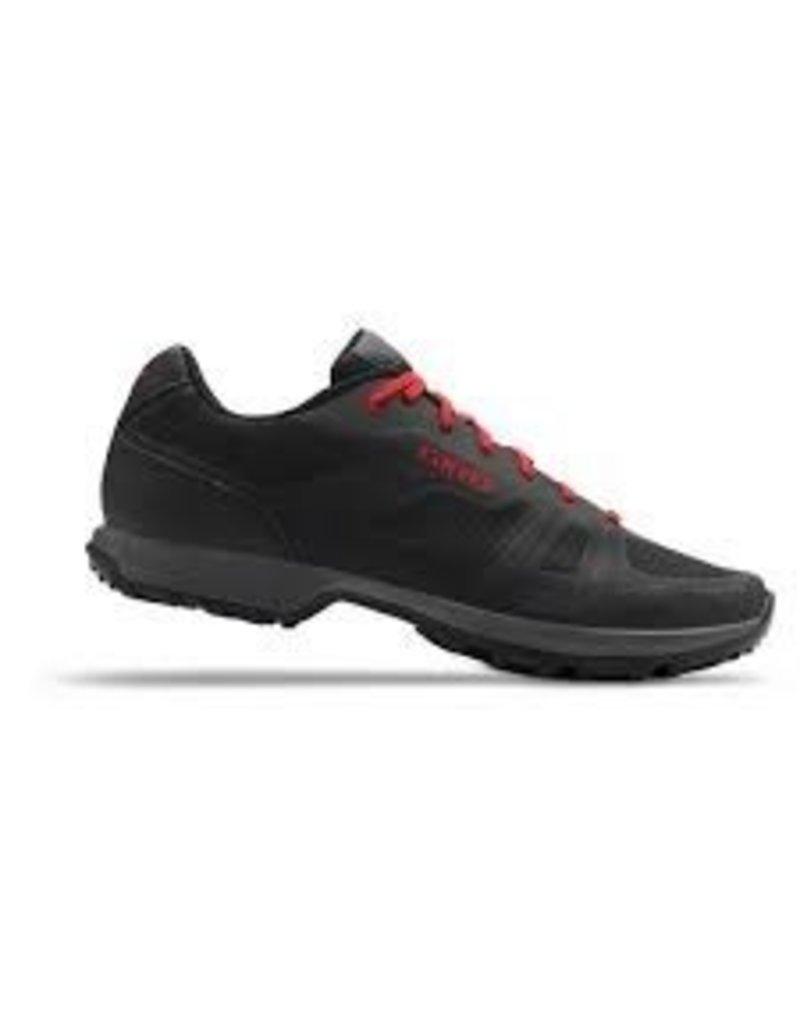 GIRO Chaussures Giro gauge M noir/rouge 46