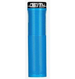 Poignées Deity Knucklebuster 132mm Bleue