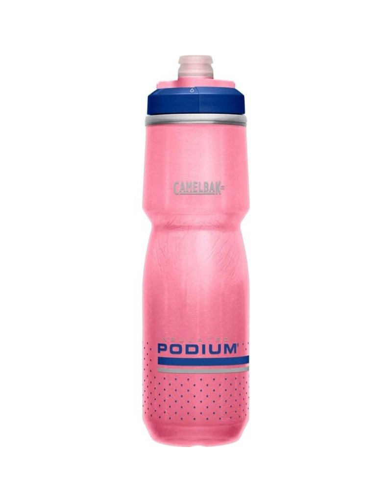 Bouteille Podium chill 24oz rose/ultramarine