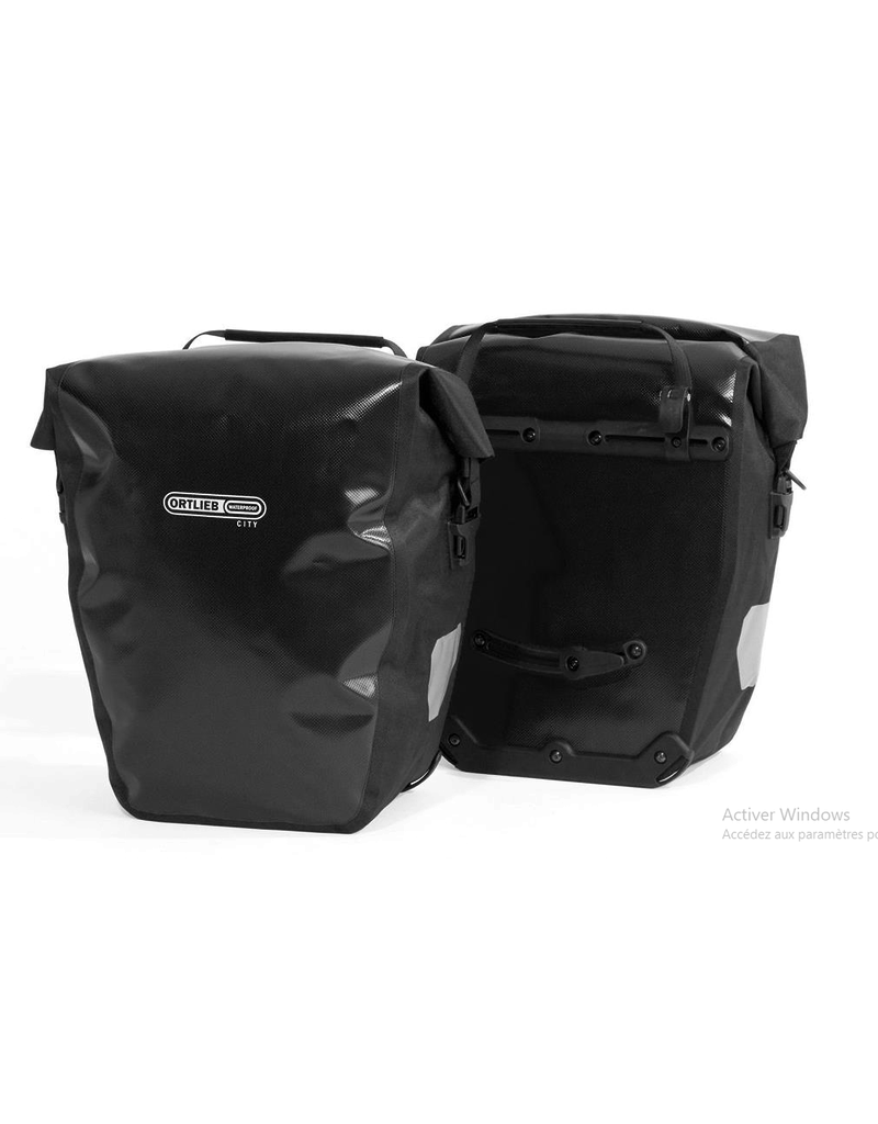 Ortlieb Sacoches Ortlieb Back-Roller City 40 L Noir