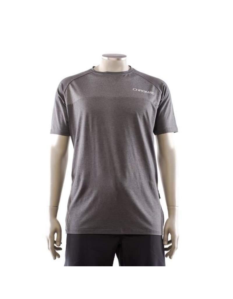 Chromag Jersey SS RIP Charcoal Small