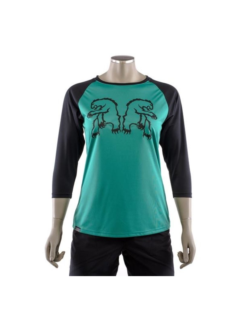 Chromag Jersey  3/4 Turquoise  W Small