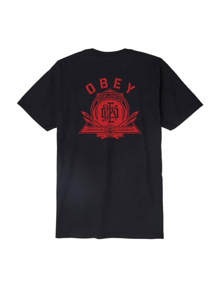 OBEY Creative Dissent Monogram Black