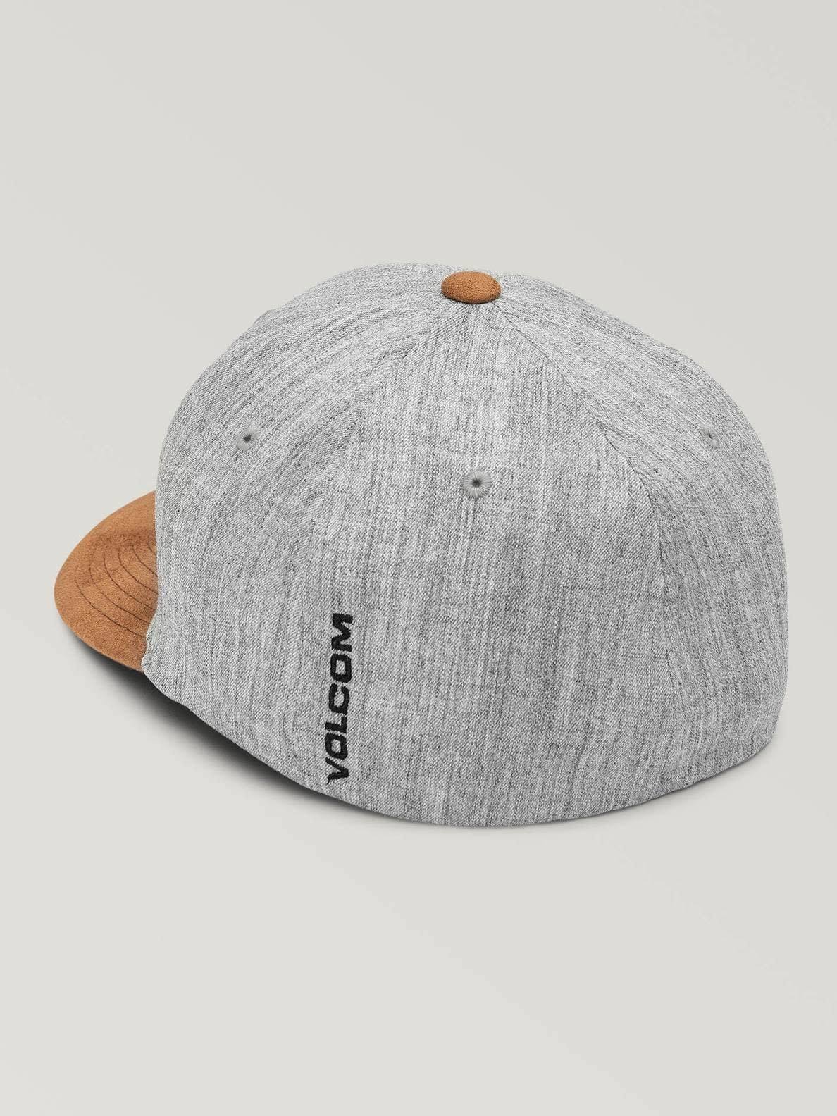 FULL STONE HEATHER XFIT HAT -  RUSTIC BROWN