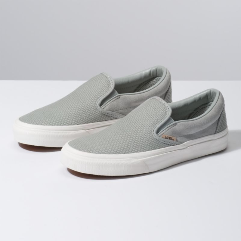 Classic Slip-On Woven Check Belgian