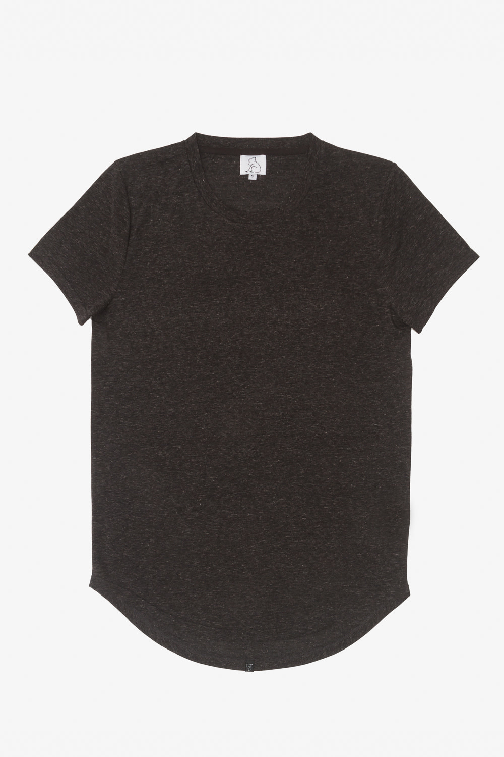 Linen Hi-Lo Scoop Mix Black