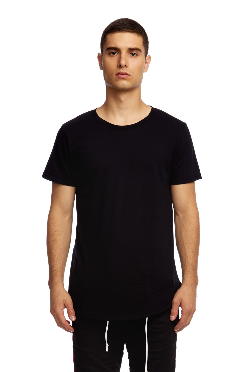 Eazy Scoop Tee Black