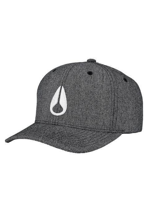 Deep Down Athletic Textured Hat Gunmetal / White L/Xl