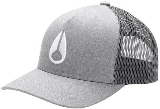 MEN'S Iconed Trucker Hat Heather Gray