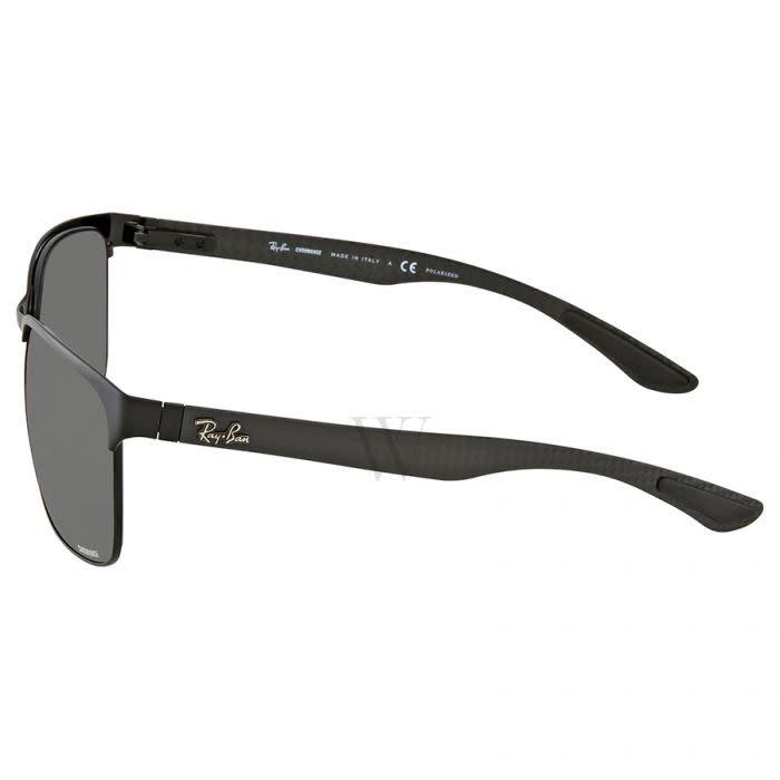 RB8319CH Black Top On Matte w/ Grey Mirror Grey Gradient