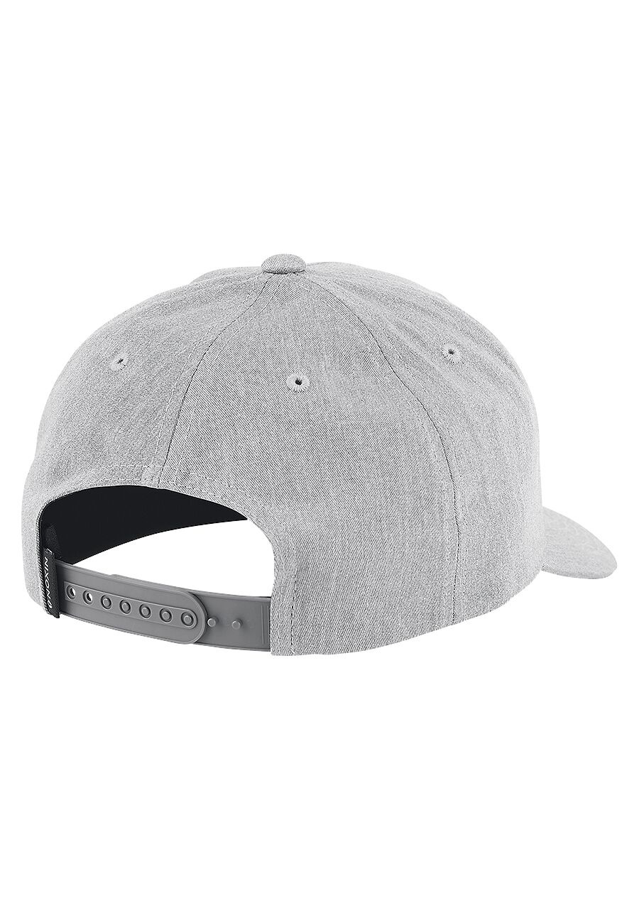 Lockup Snapback Heather Gray