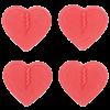 Mini Hearts Red